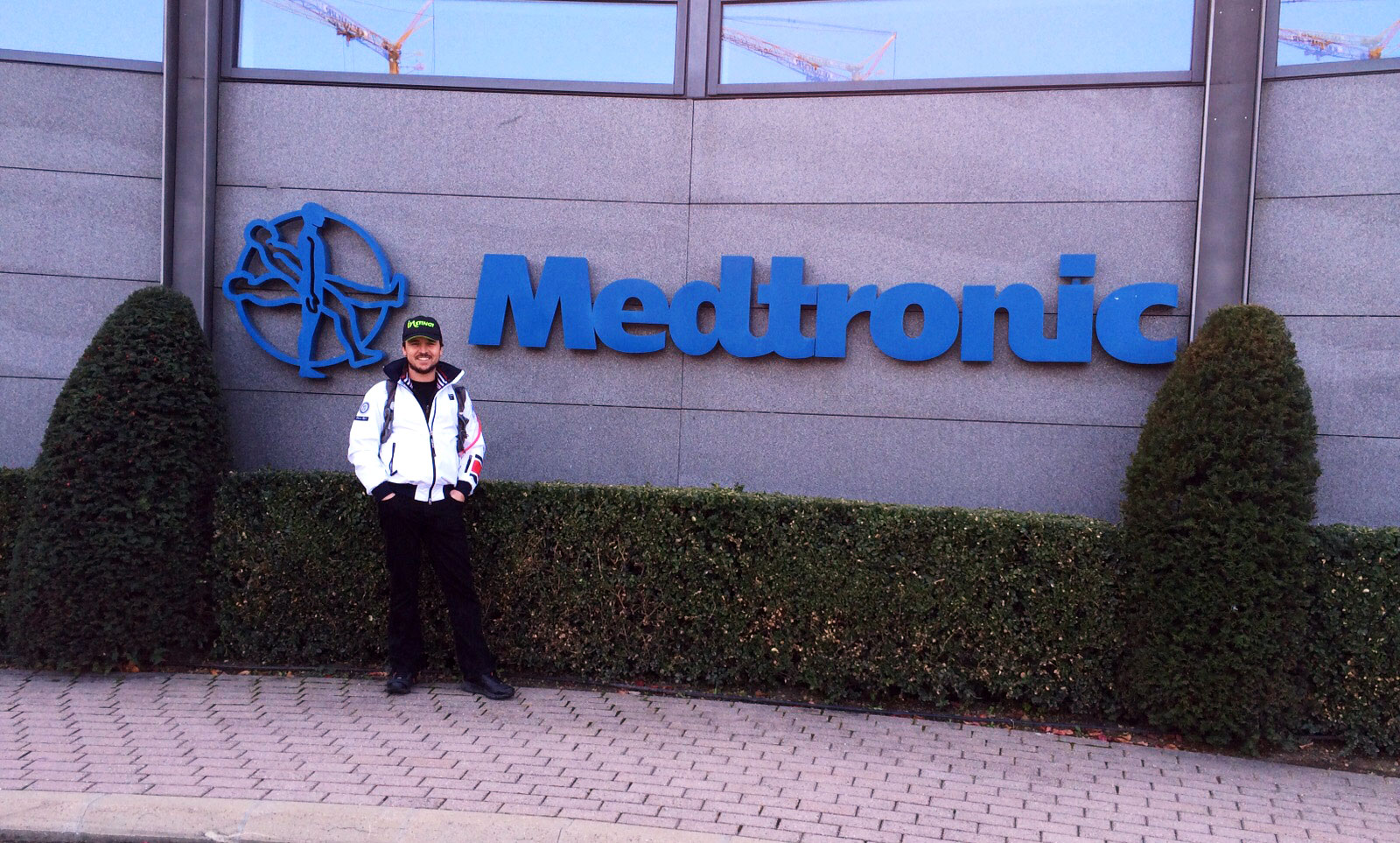 Clint outside Medtronic